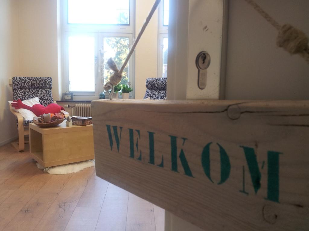 Welkom in de praktijk - Foto: Jeanne van Mierlo
